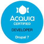 Acquia Certified Developer Drupal 7