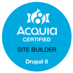 Acquia Certified Site Builder Drupal 8